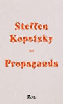 Steffen Kopetzky: Propaganda, Buch