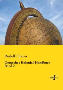 Rudolf Fitzner: Deutsches Kolonial-Handbuch, Buch
