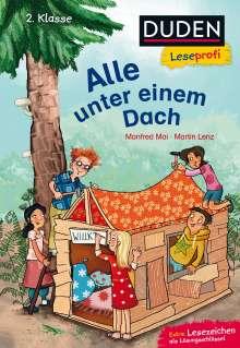 Manfred Mai: Duden Leseprofi - Alle unter einem Dach, 2. Klasse, Buch