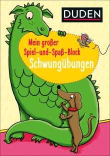 Christina Braun: Mein großer Spiel-und Spaßblock: Schwungübungen, Buch