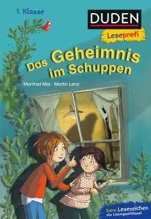 Manfred Mai: Duden Leseprofi - Das Geheimnis im Schuppen, 1. Klasse, Buch