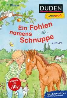 Usch Luhn: Duden Leseprofi - Ein Fohlen namens Schnuppe, 1. Klasse, Buch