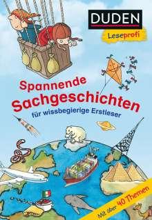 Christina Braun: Duden Leseprofi - Spannende Sachgeschichten für wissbegierige Erstleser, 2. Klasse, Buch
