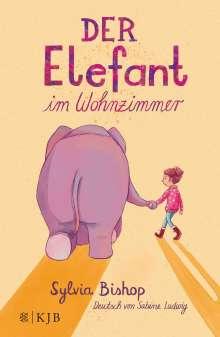 Sylvia Bishop: Der Elefant im Wohnzimmer, Buch