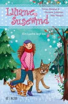 Tanya Stewner: Liliane Susewind - Ein Luchs legt los, Buch