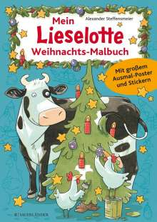 Mein Lieselotte Weihnachts-Malbuch, Buch