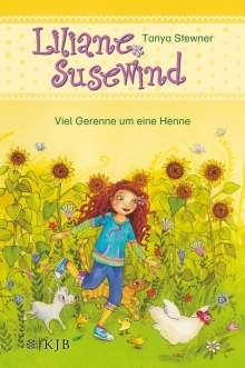 Tanya Stewner: Liliane Susewind - Viel Gerenne um eine Henne, Buch