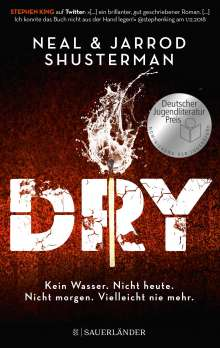 Jarrod Shusterman: Dry, Buch
