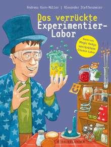 Andreas Korn-Müller: Das verrückte Experimentier-Labor, Buch