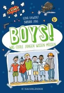 Ilona Einwohlt: Boys!, Buch