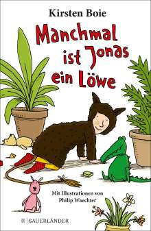 Kirsten Boie: Manchmal ist Jonas ein Löwe, Buch