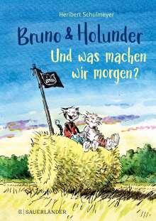 Heribert Schulmeyer: Bruno und Holunder. Und was machen wir morgen?, Buch