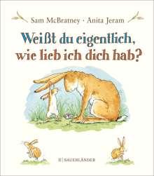 Sam McBratney: Weißt du eigentlich, wie lieb ich dich hab?, Buch