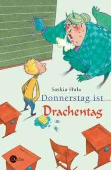 Saskia Hula: Donnerstag ist Drachentag, Buch