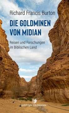 Richard Francis Burton: Die Goldminen von Midian, Buch