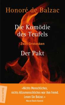 Honoré de Balzac: Die Komödie des Teufels - Der Pakt, Buch