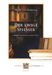 Ödön Von Horváth: Der ewige Spießer, Buch