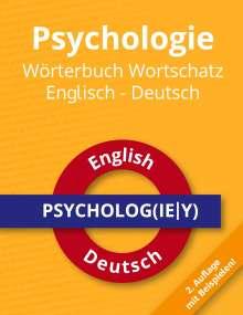 Roland Russwurm: Psychologie Wörterbuch Wortschatz Englisch - Deutsch, Buch