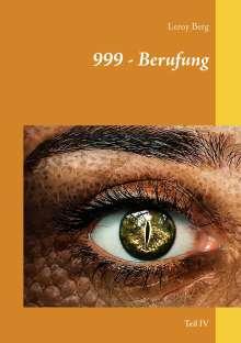 Leroy Berg: 999 - Berufung, Buch