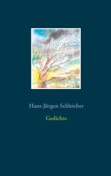 Hans-Jürgen Schleicher: Gedichte, Buch