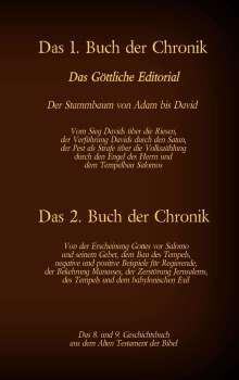 Martin Luther 1545: Das 1. und 2. Buch der Chronik, das 8. und 9. Geschichtsbuch aus dem Alten Testament der Bibel, Buch