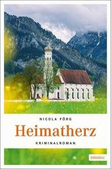 Nicola Förg: Heimatherz, Buch