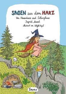 Ingrid Annel: Sagen aus dem Harz, Buch