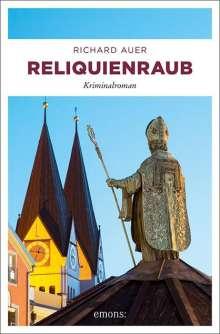 Richard Auer: Reliquienraub, Buch