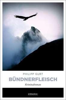 Philipp Gurt: Bündnerfleisch, Buch