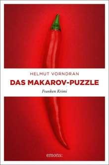 Helmut Vorndran: Das Makarov-Puzzle, Buch