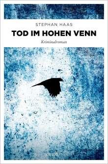 Stephan Haas: Tod im Hohen Venn, Buch