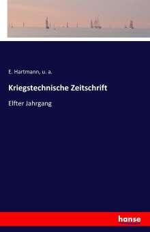 E. Hartmann: Kriegstechnische Zeitschrift, Buch