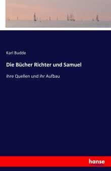 Karl Budde: Die Bücher Richter und Samuel, Buch