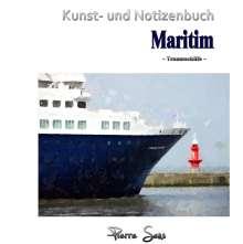 Pierre Sens: Kunst- und Notizenbuch Maritim, Buch