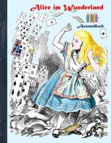 Luisa Rose: Alice im Wunderland (Ausmalbuch), Buch