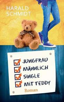 Harald Schmidt (geb. 1948): Jungfrau, männlich, Single, mit Teddy, Buch