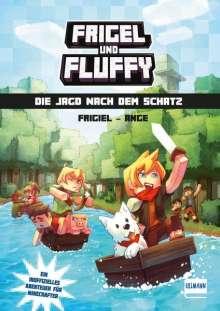 Frigiel: Frigel und Fluffy: Die Jagd nach dem Schatz, Buch