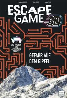 Mélanie Vives: Escape Game 3D - Gefahr auf dem Gipfel, Buch