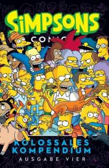 Matt Groening: Simpsons Comics Kolossales Kompendium 04, Buch