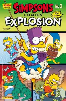 Matt Groening: Simpsons Comics Explosion, Buch