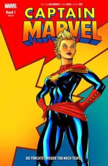 Kelly Sue Deconnick: Captain Marvel 01: Sie fürchtet weder Tod noch Teufel, Buch