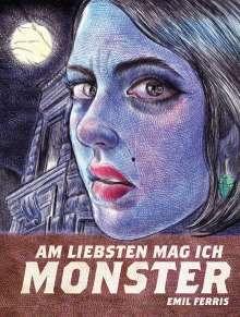 Emil Ferris: Am liebsten mag ich Monster, Buch