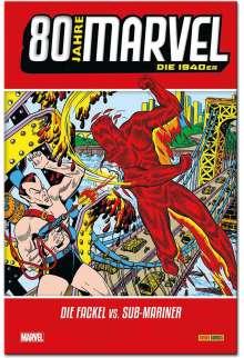 Bill Evrett: 80 Jahre Marvel: Die 1940er, Buch