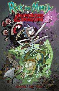 Patrick Rothfuss: Rick and Morty vs. Dungeons & Dragons, Buch