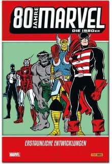 Chris Claremont: 80 Jahre Marvel: Die 1980er, Buch