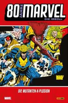 Alan Davis: 80 Jahre Marvel: Die 1990er, Buch