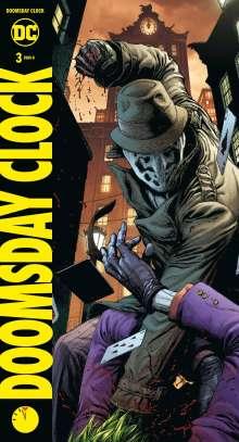 Geoff Johns: Doomsday Clock, Buch