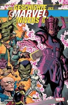 Mark Waid: Die Geschichte des Marvel-Universum, Buch