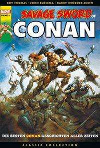 Roy Thomas: Savage Sword of Conan: Classic Collection, Buch