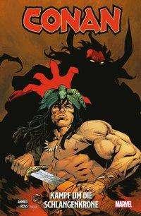 Saladin Ahmed: Conan: Kampf um die Schlangenkrone, Buch